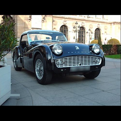 Triumph Tr3 A 1959 Ts 412662 Restauration Depuis Le Châssis