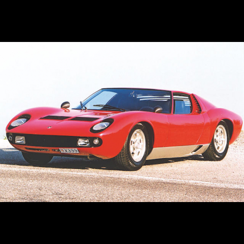 1968 Lamborghini Miura P400 Berlinetta The Bid Watcher