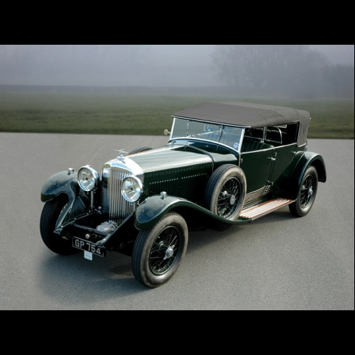 1931 Bentley 4½-litre Supercharged Two-seater Sports In The Style Of