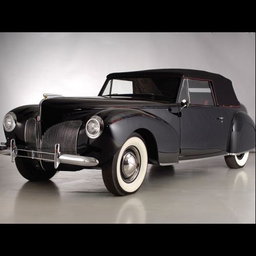 1940 Lincoln Zephyr Club Coupe The Bid Watcher