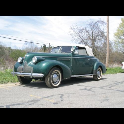 1939 Buick Roadmaster Six Passenger Convertible Sedan The Bid Watcher