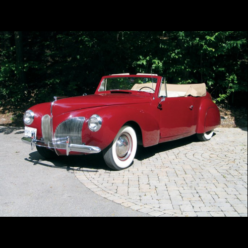 1940 Lincoln Zephyr Coupe The Bid Watcher