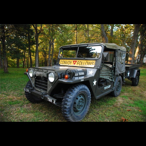 1965 Jeep M151 Military 4x4 Utility Vehicle - The Bid Watcher