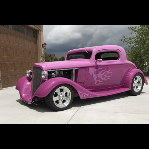 1934 Chevrolet Master Deluxe 2 Door Hardtop - The Bid Watcher