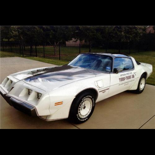 1980 pontiac firebird trans am pace car