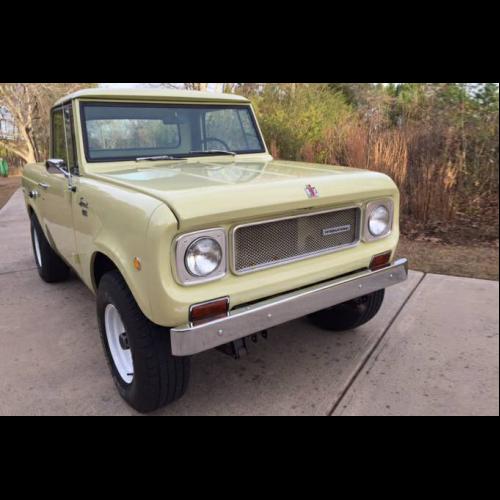 1968 International Scout 4x4 Pickup - The Bid Watcher