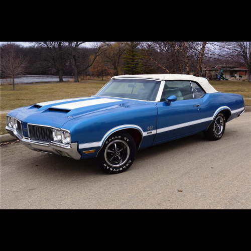 1970 Oldsmobile Cutlass W31 Coupe - The Bid Watcher