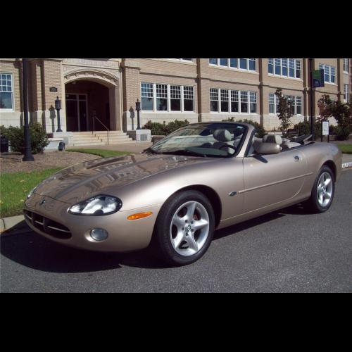 2001 Jaguar Xk Interior