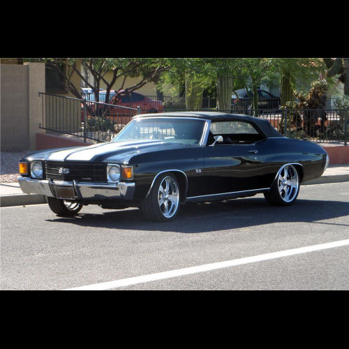 1972 Chevrolet Camaro Coupe Pro-street - The Bid Watcher