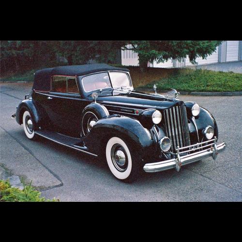 1939 Packard Super 8 4 Door Sedan - The Bid Watcher