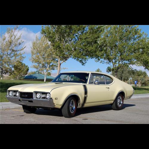 1968 Oldsmobile Holiday 442 Coupe - The Bid Watcher