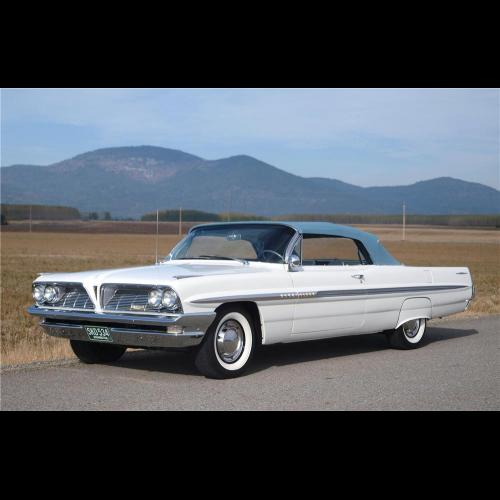 1961 Pontiac Bonneville Convertible - The Bid Watcher
