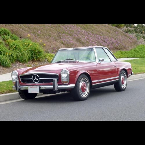 Mercedes Benz 250sl: 1968 Mercedes-benz 280sl Convertible