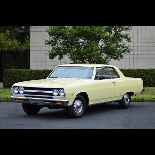 1965 Chevrolet Chevelle Malibu Custom 2 Door Hardtop - The Bid Watcher