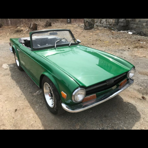 Supercharged 1969 Triumph Tr6 - The Bid Watcher
