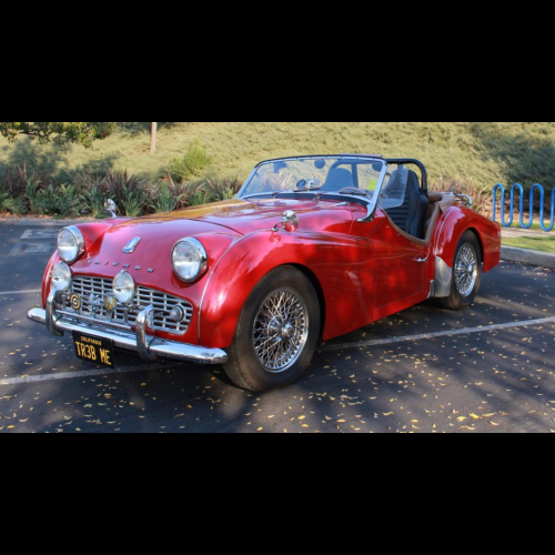 1963 Triumph Tr3b - The Bid Watcher