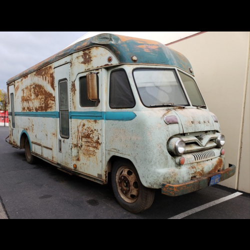 No Reserve: 1957 Ford Vanette Bookmobile By Gerstenslager