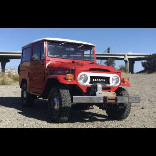 Restored 1971 Toyota Land Cruiser Fj40 - The Bid Watcher