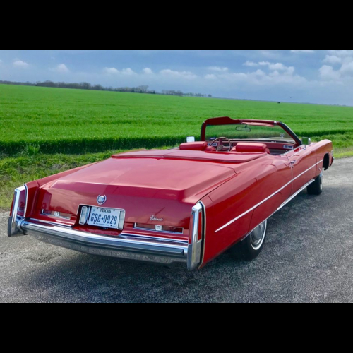 1974 Cadillac Eldorado Convertible - The Bid Watcher