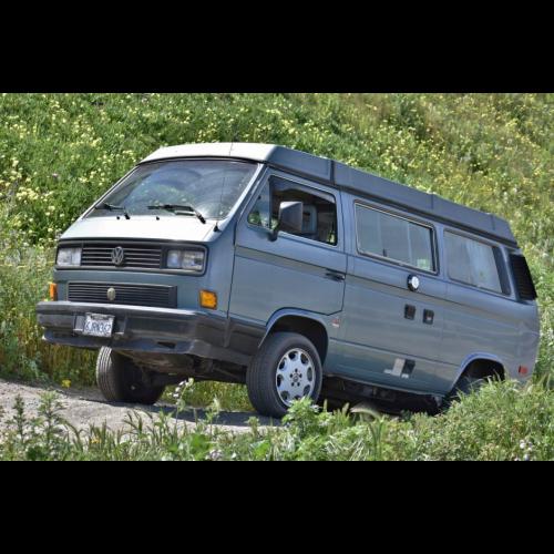 1989 Turbo Diesel Volkswagen Vanagon Syncro - The Bid Watcher